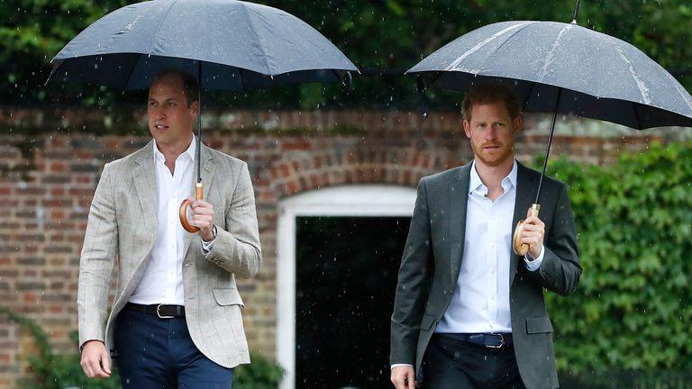 Los príncipes William y Harry tenía 15 y 12 años respectivamente cuando murió su madre