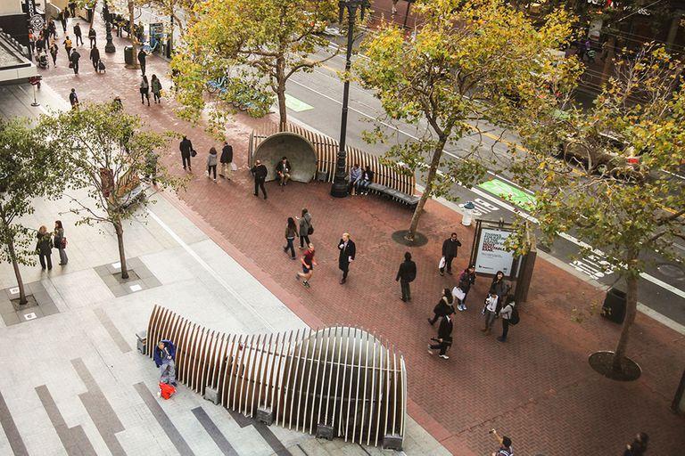 Otra de las ideas de Jan Gehl para crear ciudades con espacios públicos que mejoran la vida de las personas