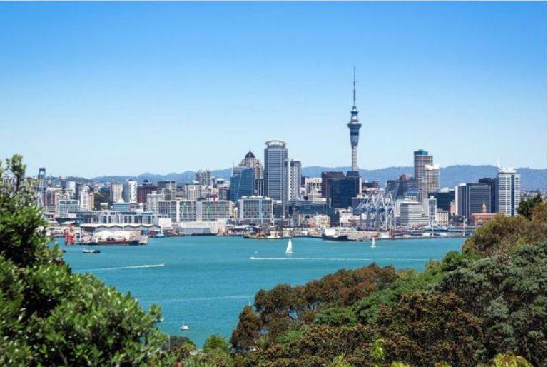 Auckland, la ciudad con mayor cantidad de habitantes de Nueva Zelanda