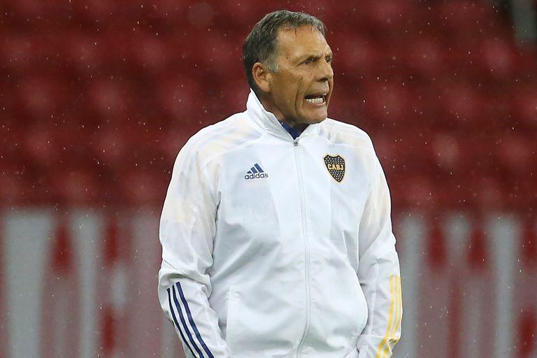 Miguel Russo, conforme con el triunfo de Boca en Brasil