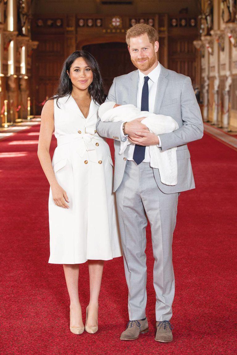 Tras el nacimiento de Archie, Meghan y Harry recibieron a Lilibet en junio, que ahora será bautizada