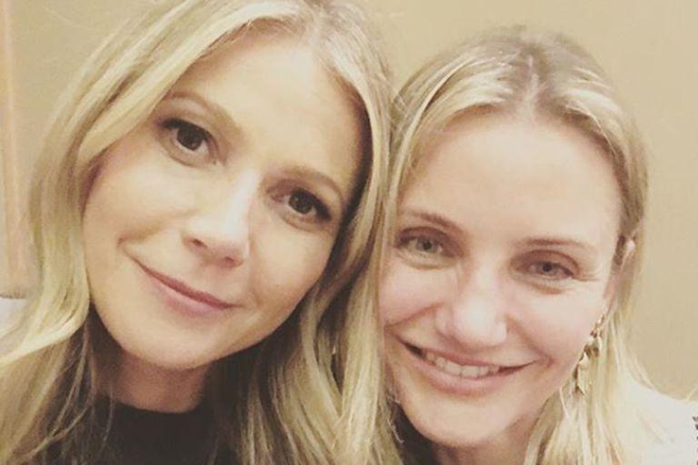 """Gwyneth Paltrow habló sobre Cameron Diaz: """"Ella va a ser la mejor mamá"""""""