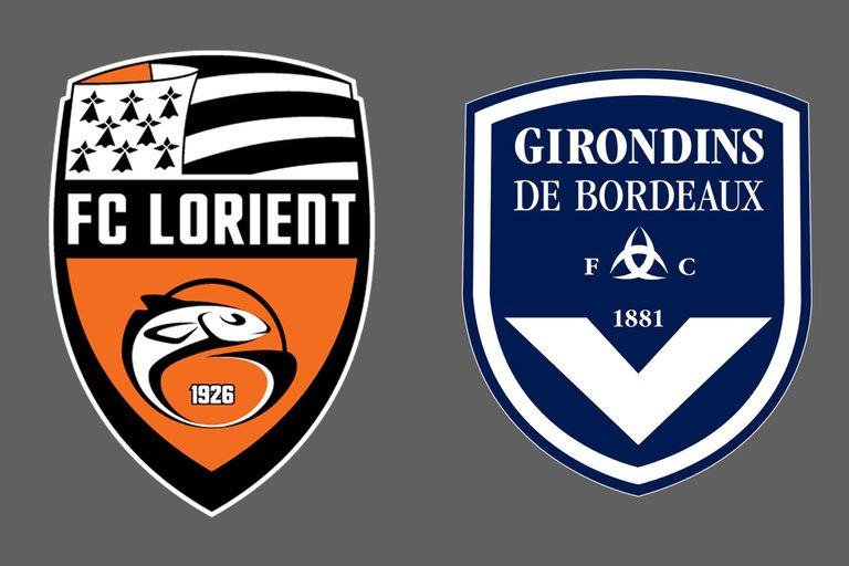 Lorient y Bordeaux empataron 1-1 en la Ligue 1 de Francia