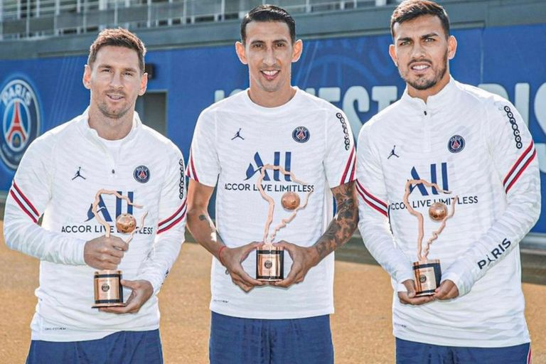 El PSG reconoció a los argentinos por la Copa América y Neymar reaccionó