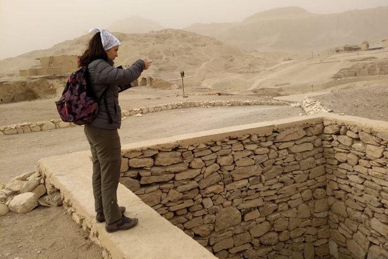 """Esta nueva misión argentina en Egipto se titula """"Proyecto Amenmose"""" y se propone la conservación y estudio de la tumba de Amenmose (TT 318) localizada en Sheikh Abd el-Qurna, Luxor, Egipto."""