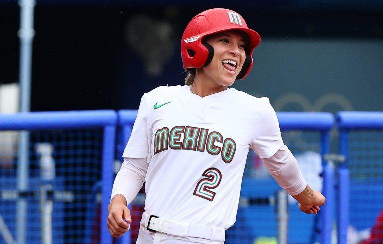 Las jugadoras usaron un uniforme diferente al que les proporcionó la delegación mexicana para Tokyio 2020.