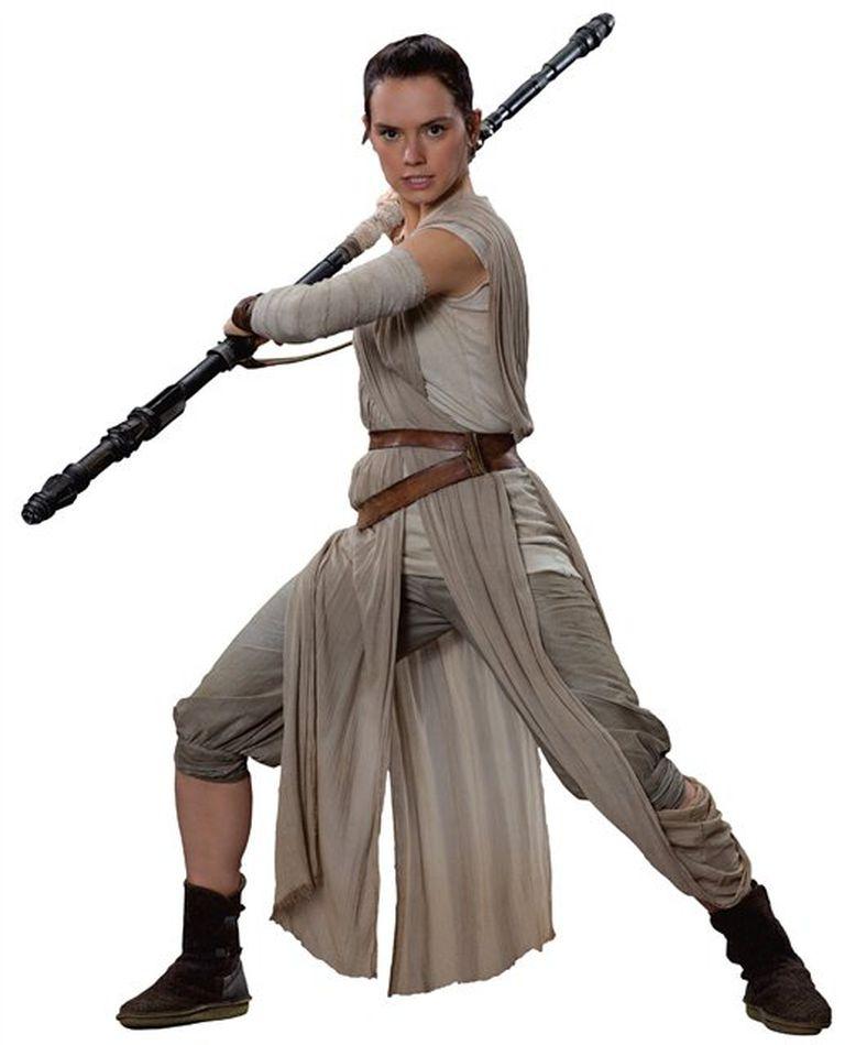 Rey, la guerrera de Star Wars