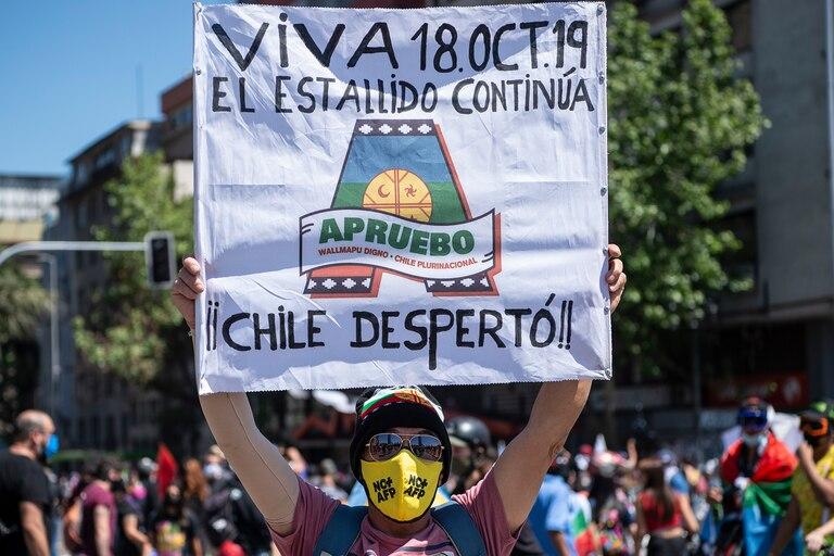 Las manifestaciones ciudadanas fueron el puntapié hacia la reforma constitucional en Chile