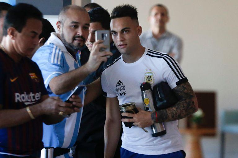 Lautaro Martinez podría ser titular ante Paraguay