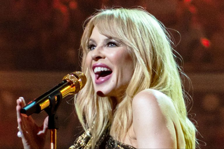 La cantante Kylie Minogue es parte de las efemérides del 28 de mayo. Fuente: Wikipedia.