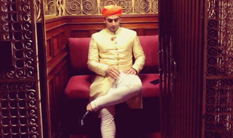 Una publicación de Instagram de Chaitanya Raj Singh Bhati, marajá de Jaisalmer ciudad al oeste de la India, que ascendió al trono el pasado mes de enero
