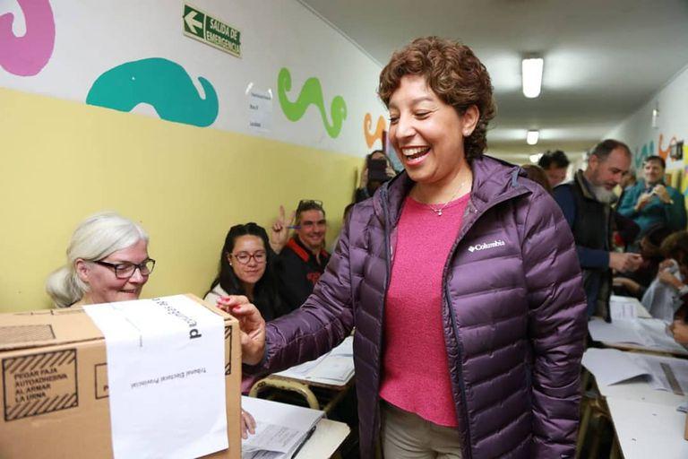 Arabela Carreras superaba al intendente de General Roca, Martín Soria