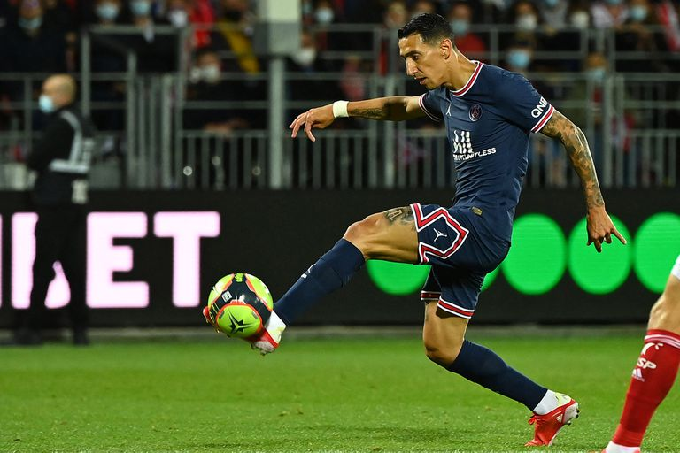 Di María sigue encendido: volvió a jugar e hizo un golazo... como el de la final de la Copa América