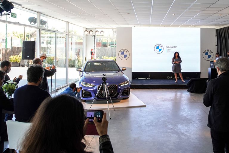 Presentación en Buenos Aires del nuevo BMW Serie 4 Coupé a cargo de Ivana Dip, CEO de BMW Group de Argentina