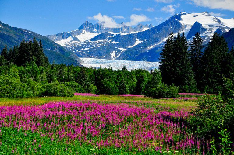 El paisaje de Alaska