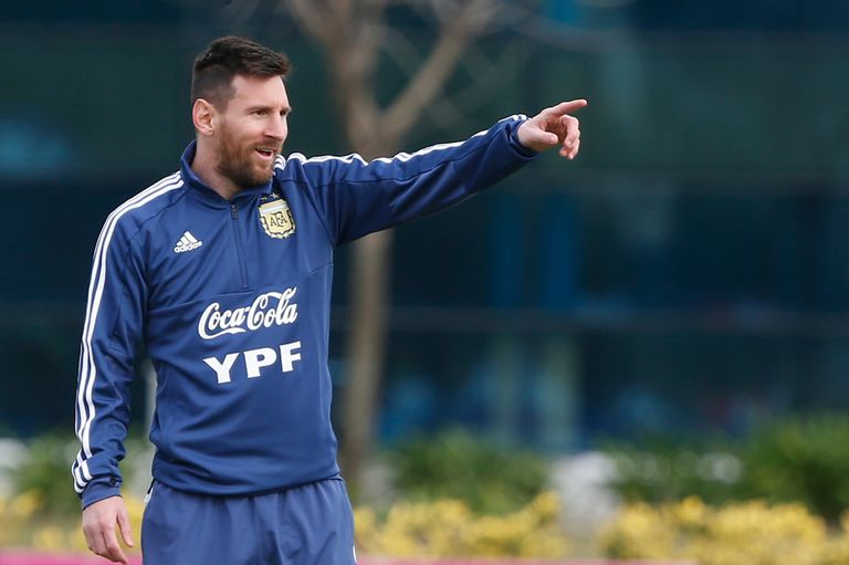 Messi dió una entrevista al canal TyC