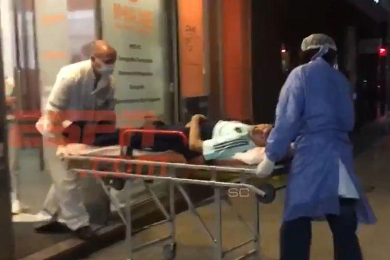 Palacios: la severa lesión que sufrió el volante por el rodillazo de Romero