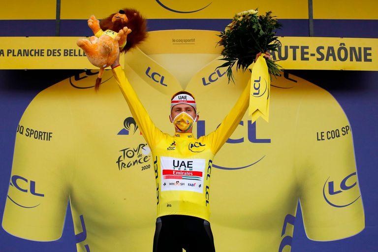 Increíble: el debutante que rompió los pronósticos y ganará el Tour de Francia
