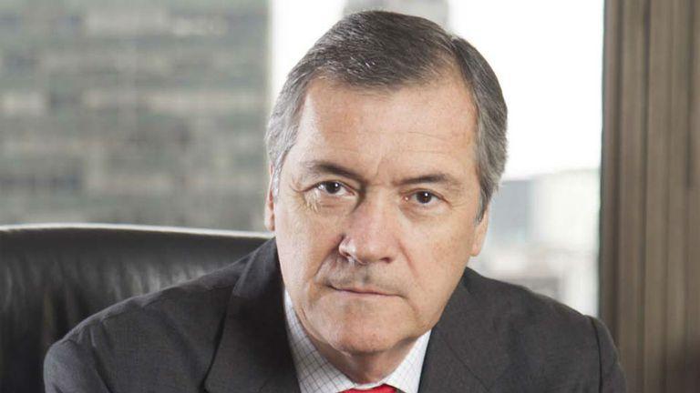 Enrique Cristofani es el presidente del Banco Santander Rio.