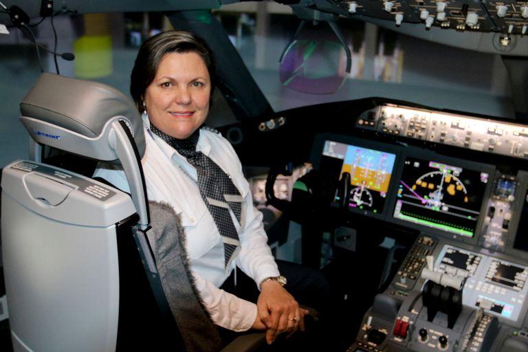 Linda Pauwels, de San Pedro a la cabina de un Boeing 787