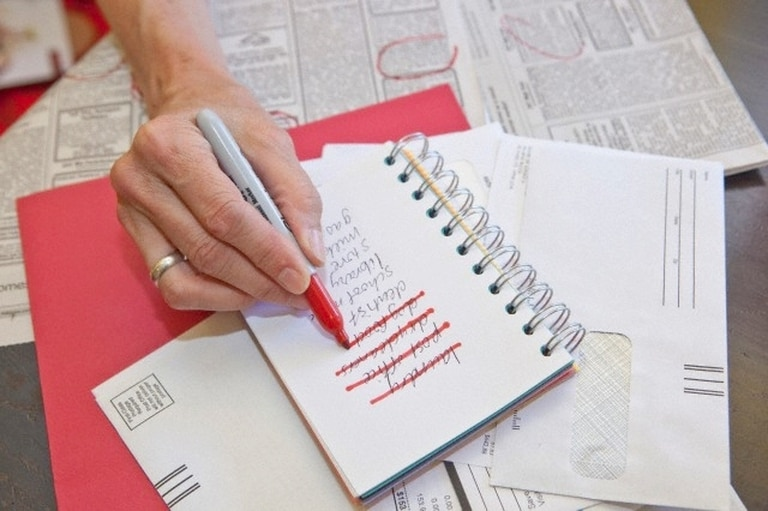 Hacé una lista de las cosas que te interesan y tomá conciencia
