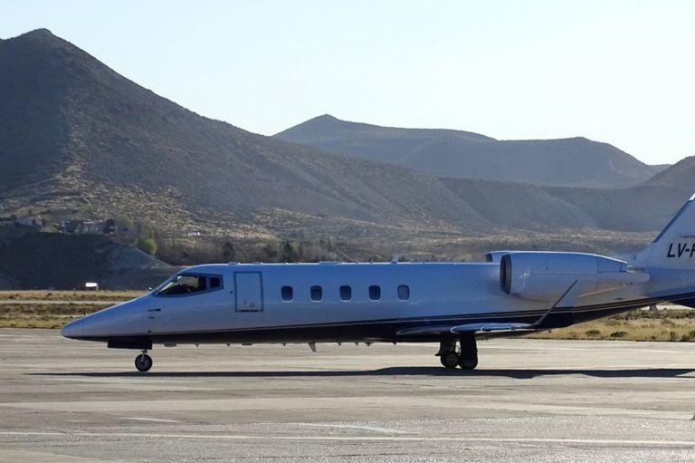 El Lear Jet 60 patente LV-FUT: el avión utilizado cientos de veces por Massa era propiedad de Ernesto Clarens