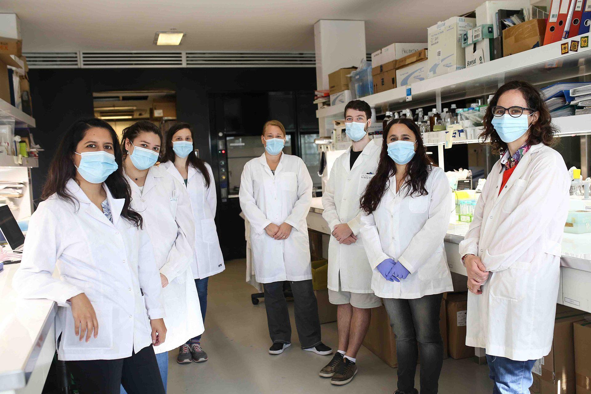 En los últimos años, el equipo venía trabajando en el desarrollo de adyuvantes para vacunas orales usando diferentes antígenos.