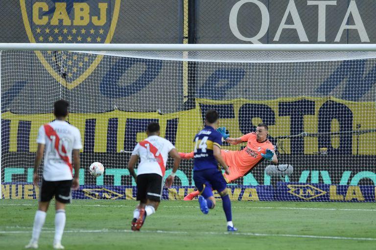 Boca - River. Video: el gol de Sebastián Villa y el empate que anotó Palavecino