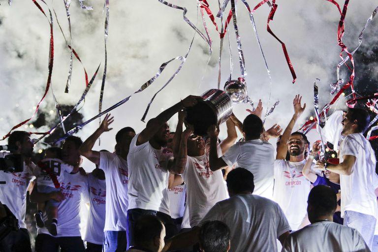 Las mejores fotos de la fiesta del River Campeón