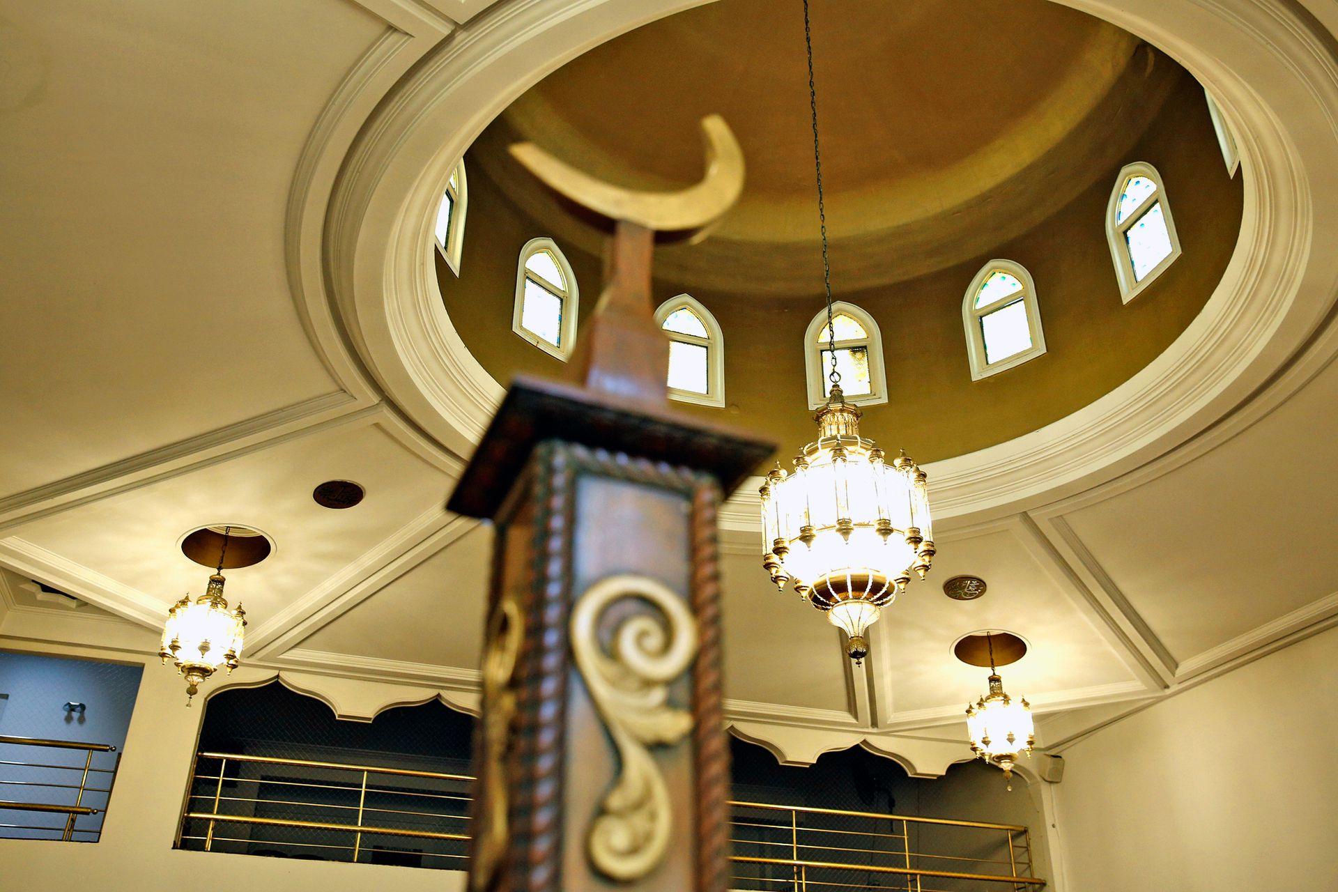 La media luna, en árabe hilal, es el símbolo identitario de los musulmanes