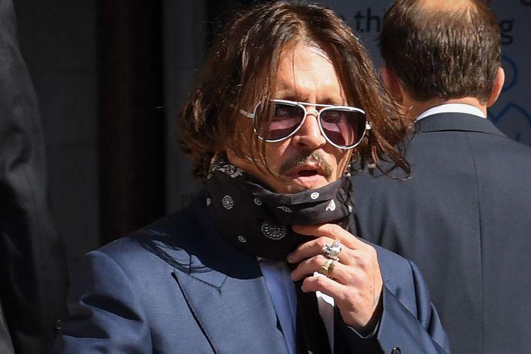 Johnny Depp y Amber Heard, cara a cara, en los tribunales de Londres
