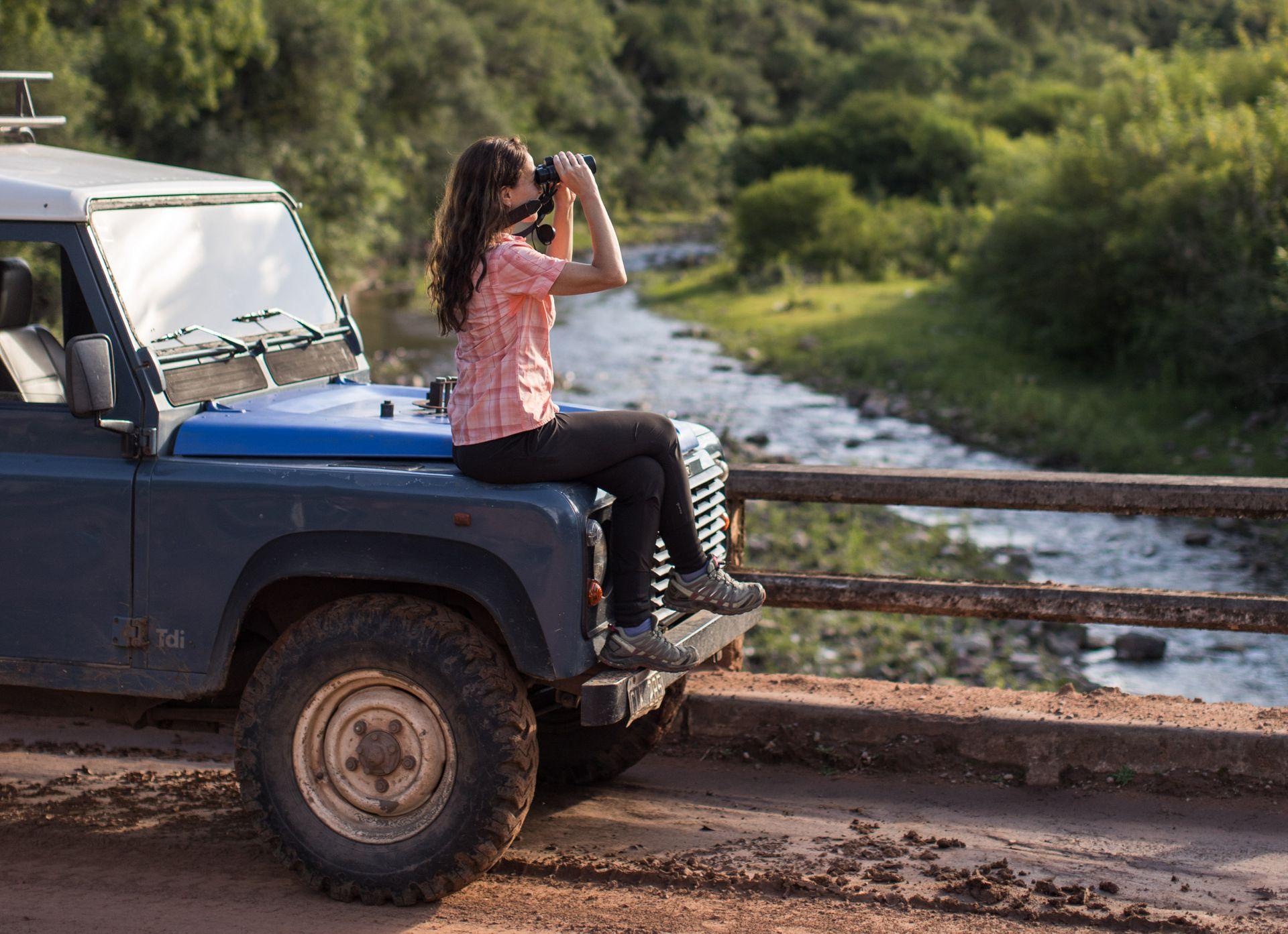 El avistaje es uno de los principales atractivos en EcoPortal de Piedra.