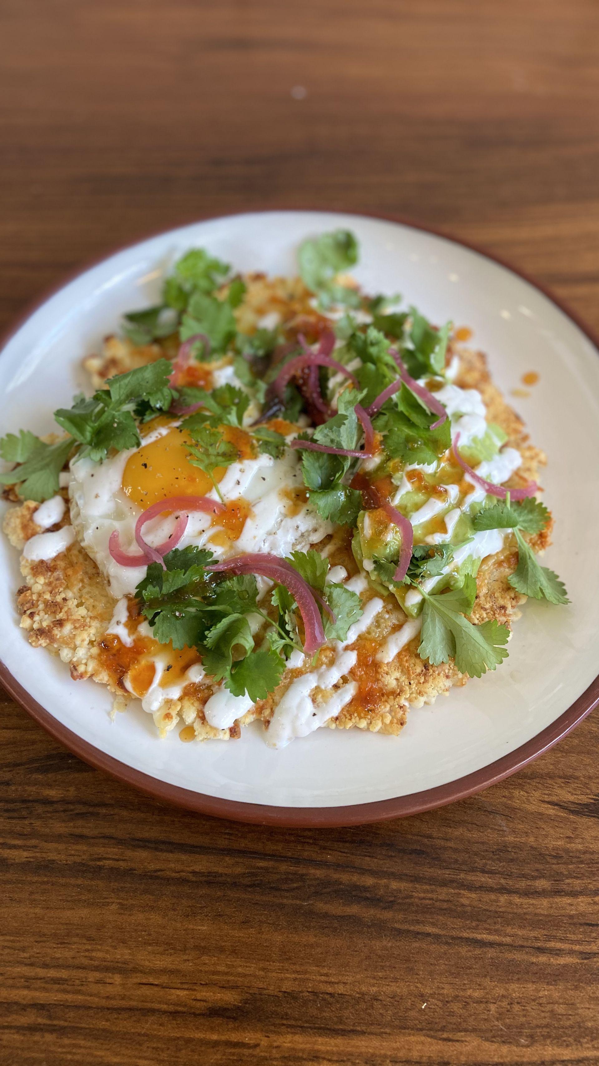 Otra opción es comerla en forma de tortilla, con huevo poché