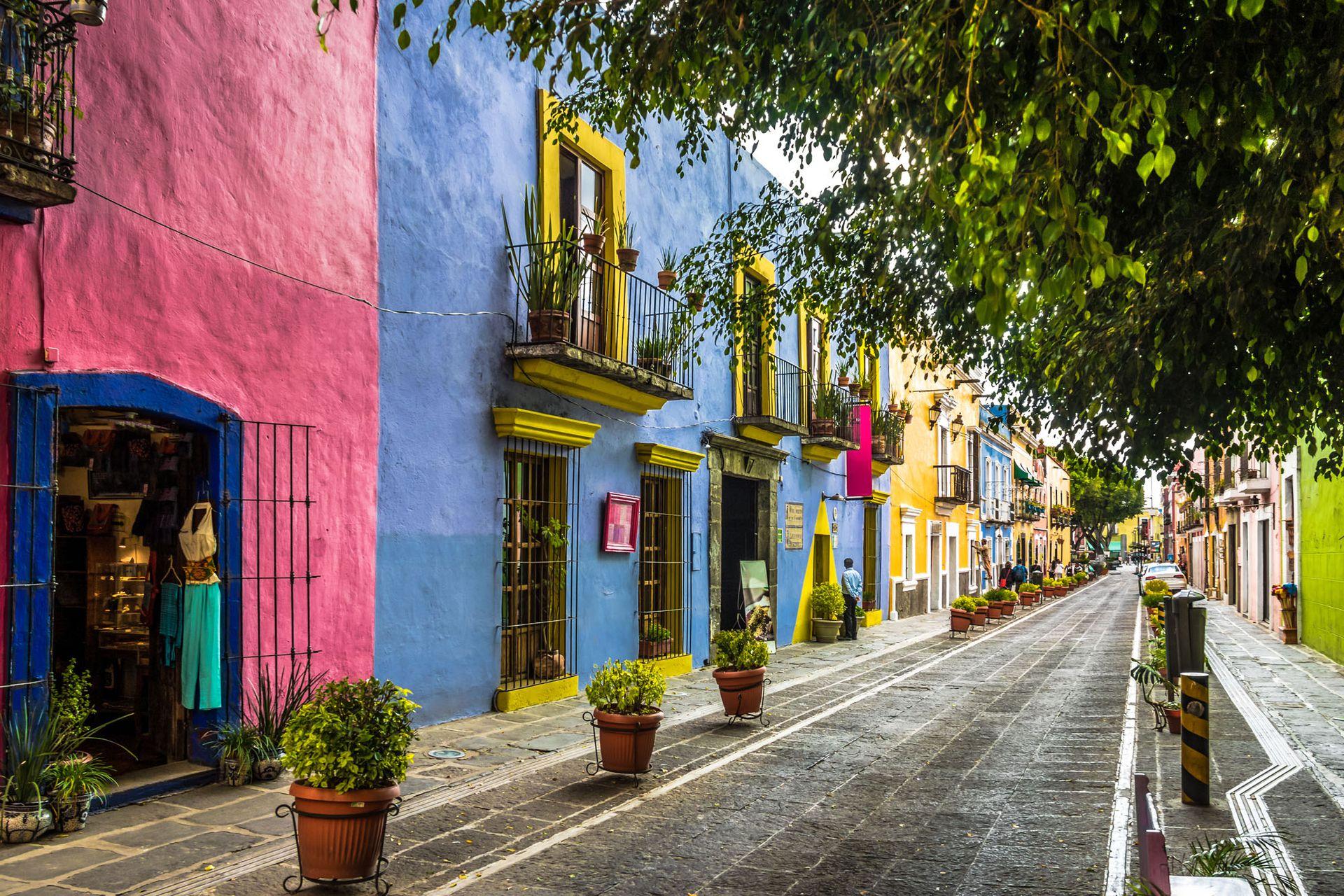 El Callejón de los Sapos en Puebla