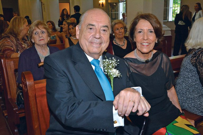 Juan Carlos Saravia y su esposa Margarita