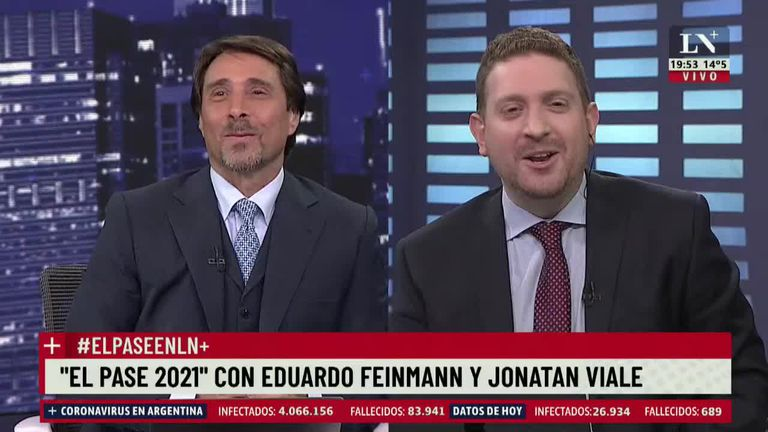 """""""Traigan la Pfizer"""": Feinmann y Jony Viale analizaron la insólita canción de Copani"""