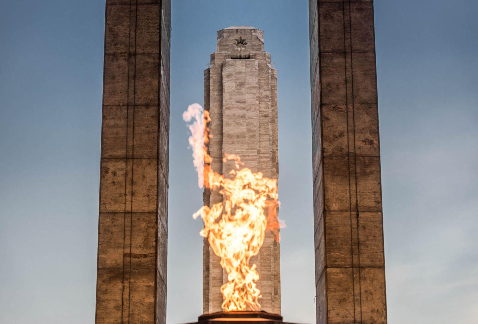 El Monumento Histórico Nacional a la Bandera.