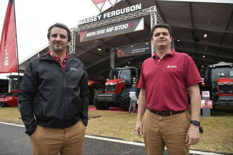 Lucas Costa, gerente de marketing, y Eriko Bagatim, gerente general