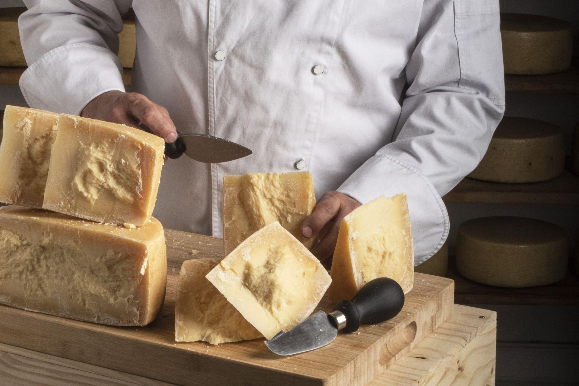 Apasionado por los quesos