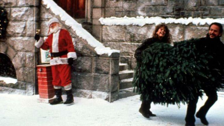 Harry y Sally buscan un árbol de Navidad en la comedia romántica escrita por Nora Ephron