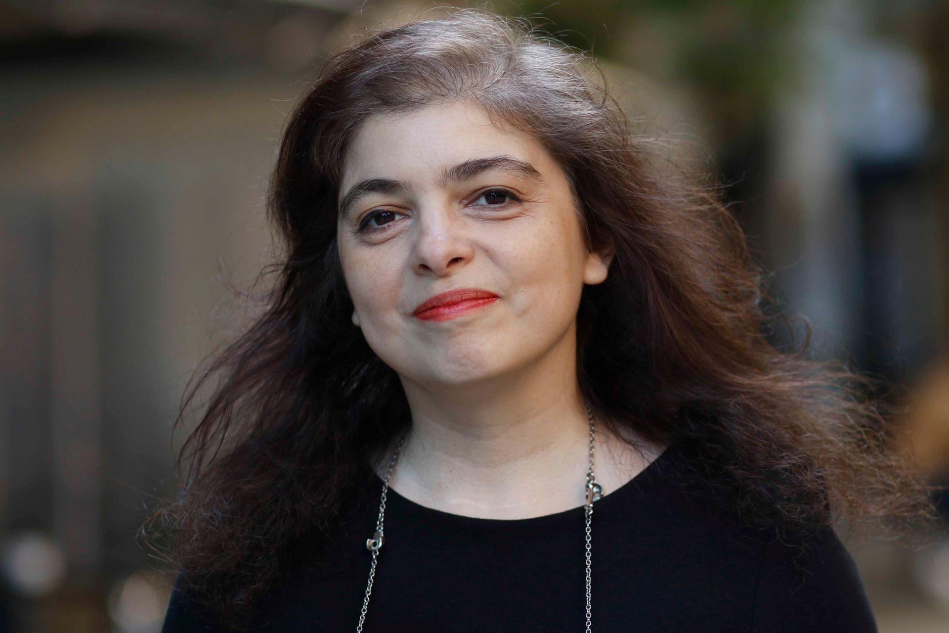 La escritora Mariana Enriquez