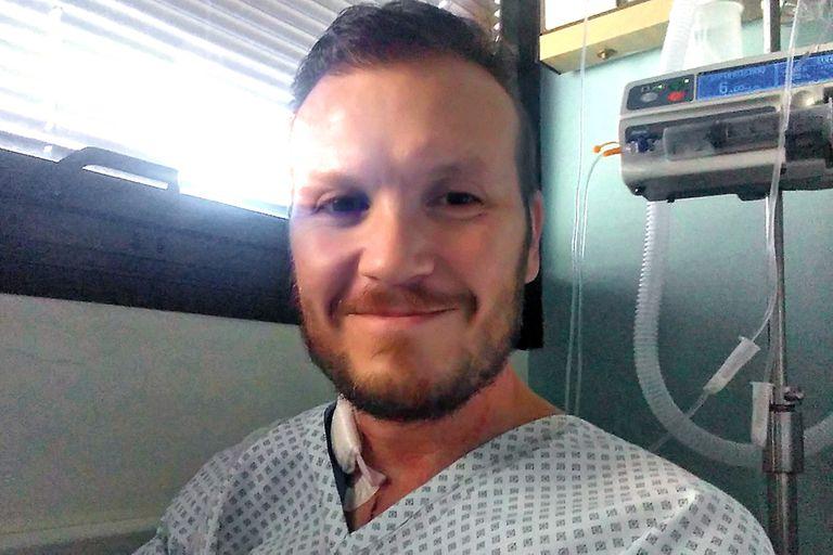 La historia de Cristian: el hombre del trasplante de corazón que fue un récord