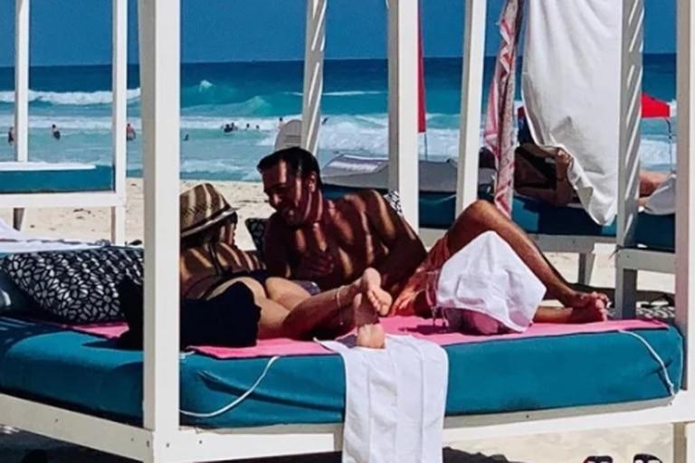 Rodolfo Barili publicó en Instagram un video romántico con su nueva novia