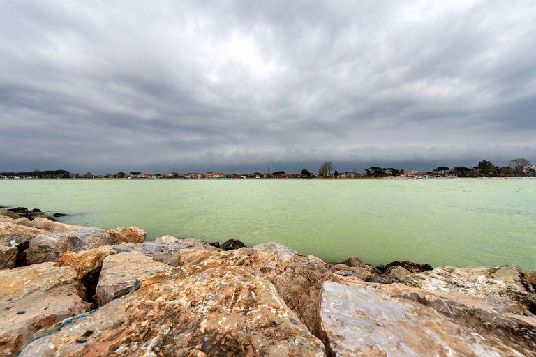 La playa de Bocca di Magra a la que el artista Carlos Carrà le dedicó una obra
