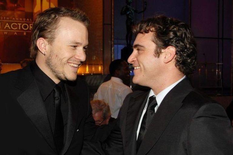 De Guasón a Guasón: Joaquin Phoenix homenajeó a Heath Ledger en los premios SAG