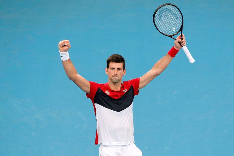 Djokovic aportó 8 puntos en el título logrado por Serbia