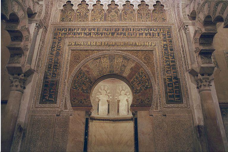 El interior de la mezquita de Córdoba, uno de los inmuebles cuestionados