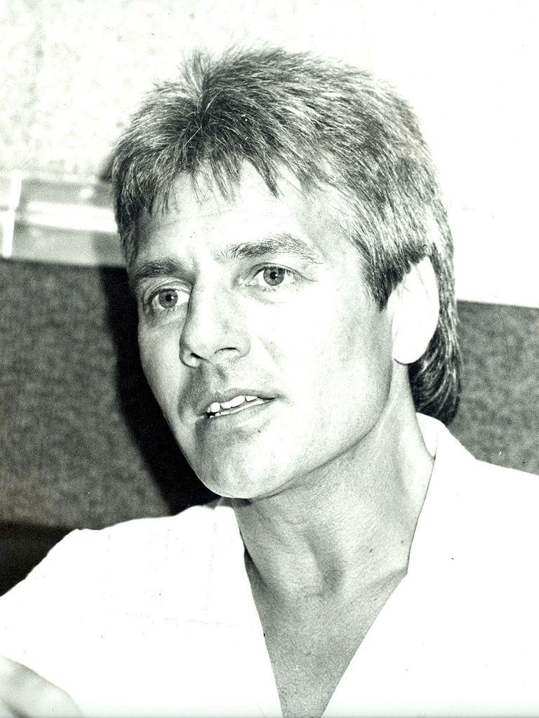 Una postal de 1989, uno de los años de mayor éxito del cantante