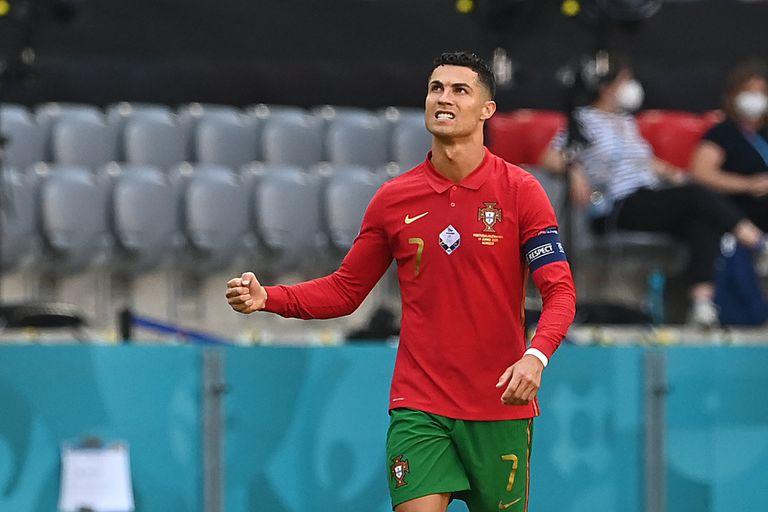 Cristiano Ronaldo llegó a 107 goles con Portugal, que perdió ante Alemania y se jugará la clasificación a la próxima instancia de la Eurocopa en la última fecha, ante Francia.