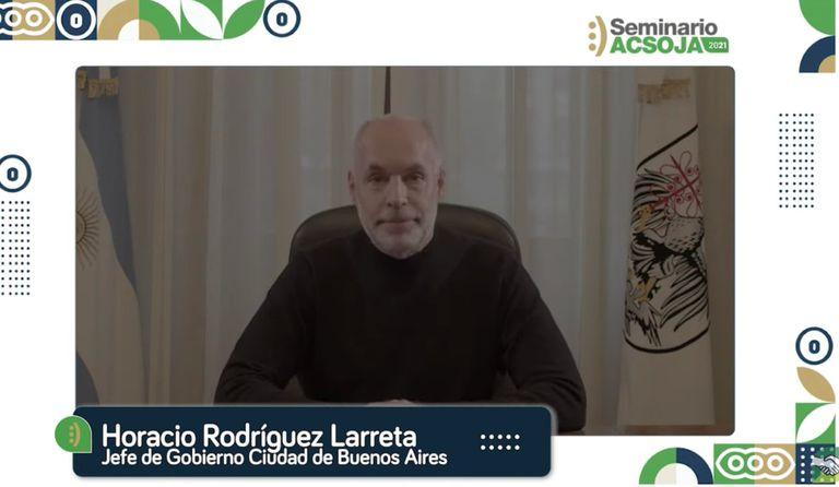 Horacio Rodríguez Larreta, Jefe de Gobierno de la ciudad de Buenos Aires